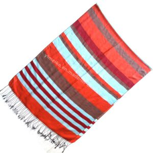 High Quality Silk Jacquard Women Scarves pictures & photos