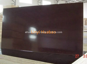 Wood Timber with Poplar Core Black Film Faced Plywood pictures & photos