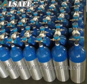 150bar Aluminum Medical Oxygen Portable Air Tank pictures & photos