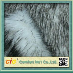Top Print Fake Fur for Car Seat pictures & photos