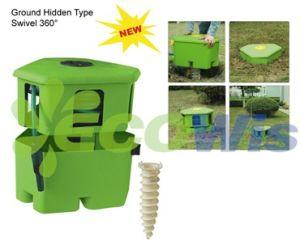 Hidden Garden Hose Reel Cart (HT1069)