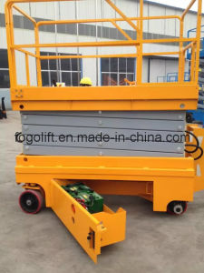 China Factory New Products Self-Propelled Upright Scissor Lifts pictures & photos