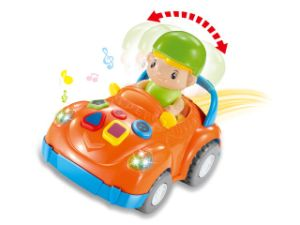 Children Funny Plastic B/O Car with Music (10217407) pictures & photos