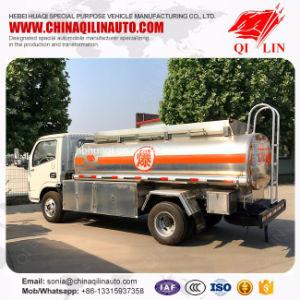 FAW Curb Weight 2t Aluminum Alloy Refueller Tank Truck pictures & photos
