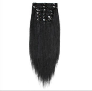 Peruvain Remy Clip in Human Hair Extensions pictures & photos