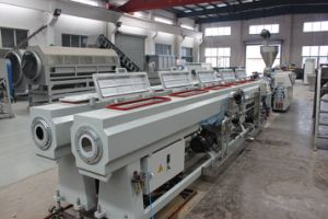PVC Electricity Pipes/ Tube Extrusion Line pictures & photos