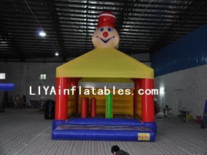 Inflatable Clown Bouncer Castle (LY04132)