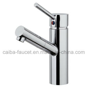 New Design Single Handle Brass Basin Faucet pictures & photos