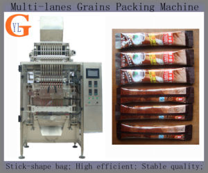 Multi-Line Stick Shape Food Grains Packaging Machine (sugar; salt; coffee) pictures & photos