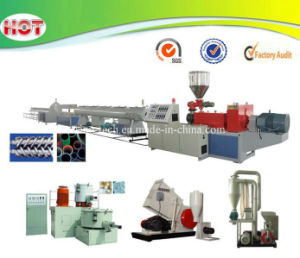 Plastic UPVC CPVC Water/Electric Pipe Production Line/Extrusion Line pictures & photos