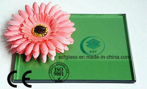 Green Color Reflctive Glass with Ce. ISO (4mm to 10mm) pictures & photos