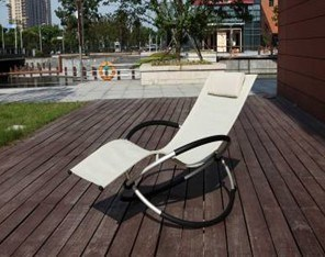 Aluminum Outdoor Rocking Foldable Lounge Chair (MW11023) pictures & photos