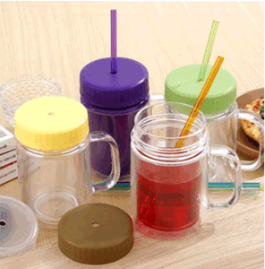 BPA Free 16oz Double Wall as Clear Plastic Tumbler