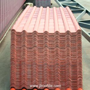 High Quality PVC Resin Roof Tiles Mexican Tile Price pictures & photos