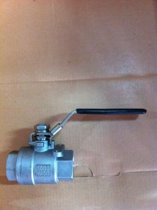 "Stainless Steel Ball Valve 1/2"" pictures & photos"
