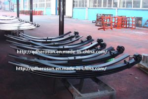 Parabolic Leaf Springs for Heavy-Duty Trucks pictures & photos