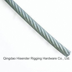 E. Galvanized Wire Rope, Ungalvanized, Stainless Steel 304, Stainless Steel 304 pictures & photos