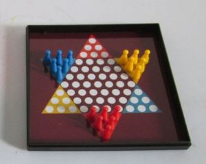 Plastic Magnetic Game, Chinese Checker