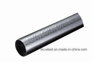 Stainless Steel Embossed Pipe for Decorative pictures & photos