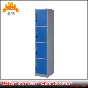 4 Doors Metal Gym Furniture Steel School Cabinet Wall Lockers pictures & photos