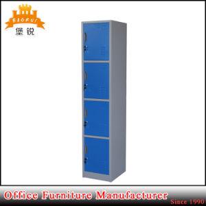 4 Tier Doors Collapsible Structure Furniture Metal Gym Military School Cabinet Wall Lockers pictures & photos