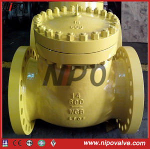 API Carbon Steel Swing Check Valve pictures & photos