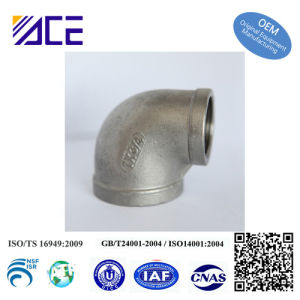 Stainless Steel Threaded Fittings Series 90′elbow pictures & photos