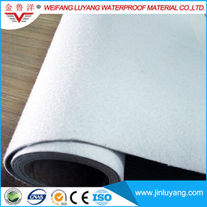 1.5mm Polyester Mesh Reinforced Waterproofing Membrane PVC Lake Membrane pictures & photos