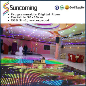 SD Control 5050 3in1 Programable P62.5 LED Light Dance Floor pictures & photos