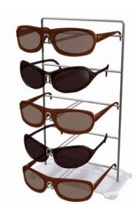 Floor Display Stand for Absorptive Lenses