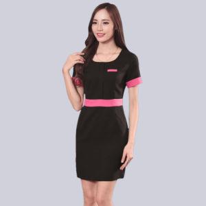 Custom Fancy Cotton Uniform for Beautician pictures & photos