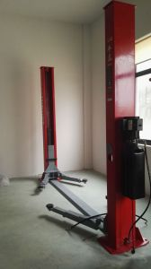 Manufacturing Hydraulic Car Lift HP-L4g, 9, 000lbs Two Post Lift