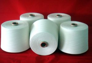 90#/75*2 Rubber Covered Polyester Yarn pictures & photos