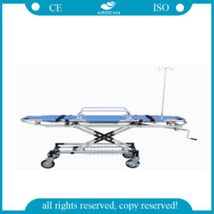 (AG-3M) Adjustable Patient Transfer Bed pictures & photos