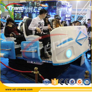 Popular 6 Seats Interactive 9d Vr Cinema 9d Virtual Reality Simulator for Amusement Park pictures & photos