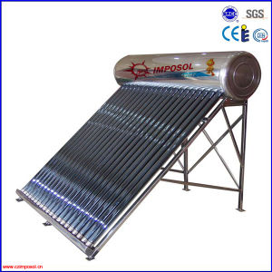 High Efficiency Pressurized Solar Water Heater for Home pictures & photos