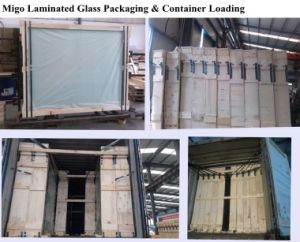 Clear PVB Laminated Safety Glass with Standard Sizes pictures & photos