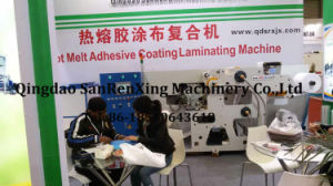 Hot Melt Adhesive Label UV Adhesive Coating Machine pictures & photos