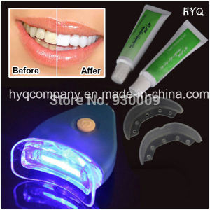 Hot Sale Home Use Teeth Whitening Kit with Teeth Whiten Light and Teeth Whiening Gel pictures & photos