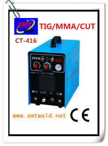 3 Functions Powerful Tool DC Cut MMA TIG Inverter Welding Machine (CT-416)