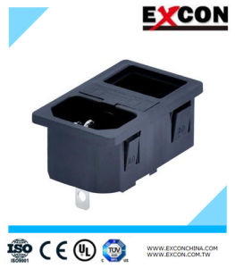 Two-in-One Socket Excon S-03f-12s-4 2 Industrial Socket Outlet