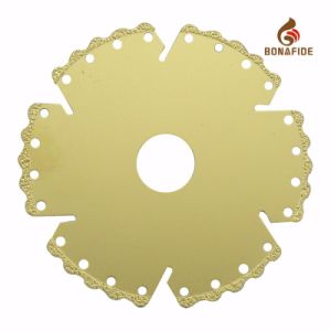Vacuum Brazed Diamond Blade Special Tooth Rim Design for an Even Faster. Long Life pictures & photos