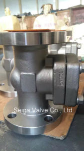 Small Diameter Flange Forged Steel Gate Valve pictures & photos