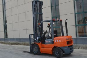 Heli 3.5 Ton Diesel Forklift Cpcd35 with Isuzu Engine pictures & photos