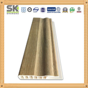 Wooden Color Plastic PVC Skirting Board
