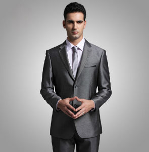 2014 Fashion New Design Cotton Men Suit (W0219)