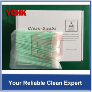 Swab Cleaner Solvent Polyester Cleaning Alcohol Swab For Printer With Long Handle pictures & photos