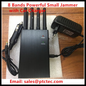 8 Antenna 3G 4G Wif VHF UHF Mobile Phone Portable Jammer pictures & photos