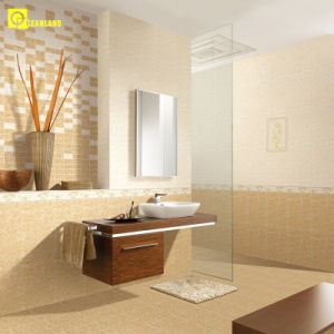 Glazed Glossy Pure White Bathroom Ceramic Wall Tile in China pictures & photos
