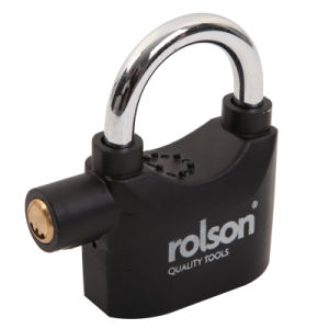 High Quality Alarm Padlock (SS-072) pictures & photos